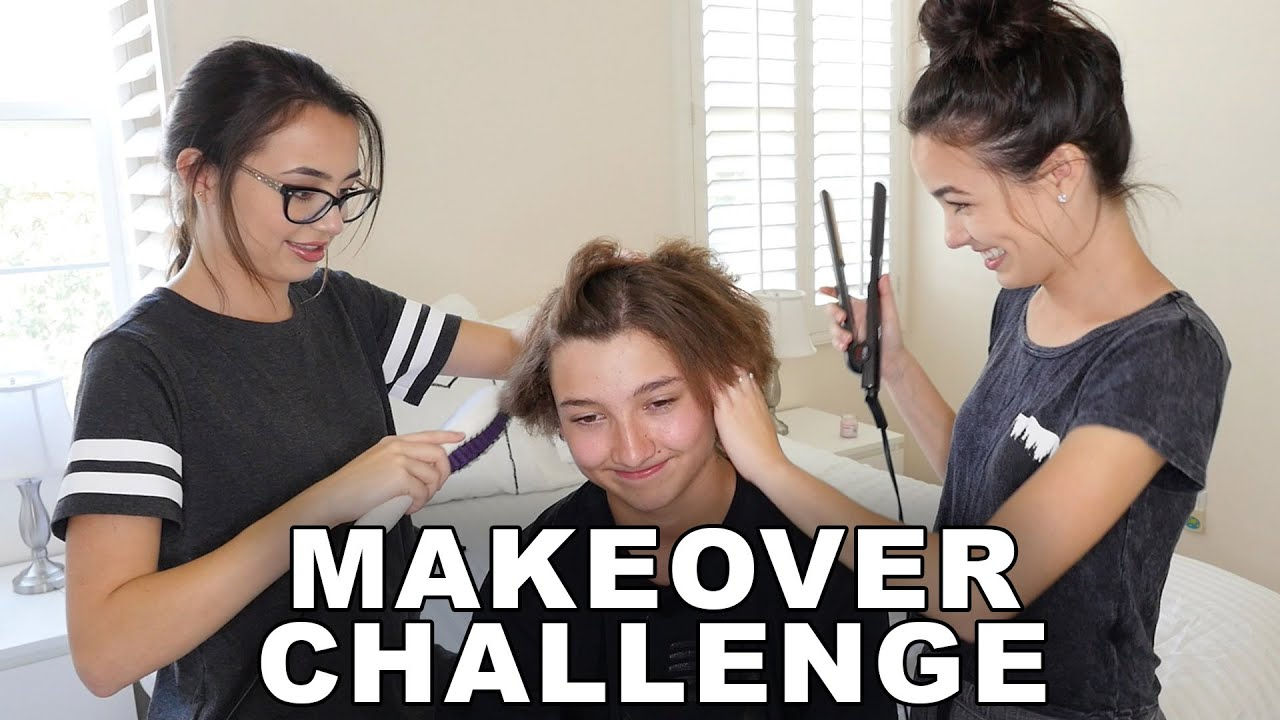 Makeover Challenge Merrell Twins Youtube