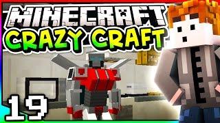Minecraft: Crazy Craft 3.0 - Episode 19 - SKYSTRIKE ARMOR! (Transformers Mod)