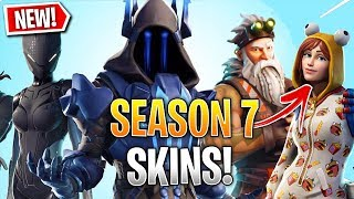 Fortnite: SEASON 7 BATTLEPASS Skins LEAKED! (4 Season 7 Battlepass Skins)