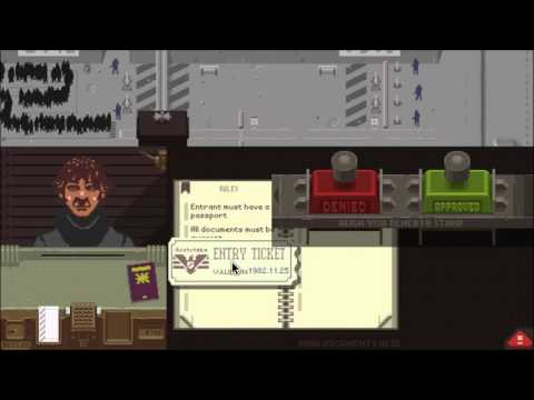 Papers Please: Immigration The Game