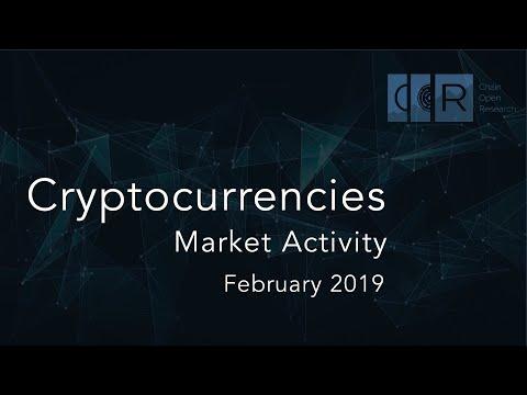 February 2019 Cryptocurrencies Market Activity Report | CORindex