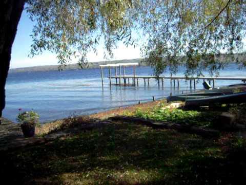 Seneca Lake Through Trees - Finger Lakes (New York State Tourism)