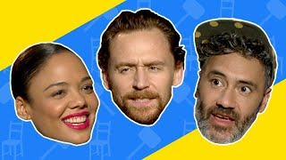 """Thor Villain or IKEA Furniture?"" With the Cast of Thor: Ragnarok"