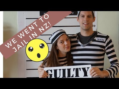 WE SLEPT IN JAIL FOR A NIGHT IN NEW ZEALAND