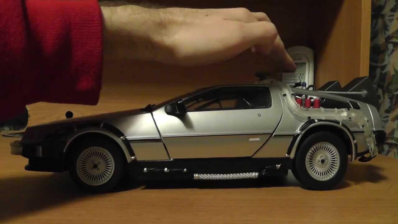 delorean time machine model