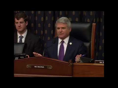 McCaul Asks Question at House Foreign Affairs Committee on Sanctions and Financial Pressure