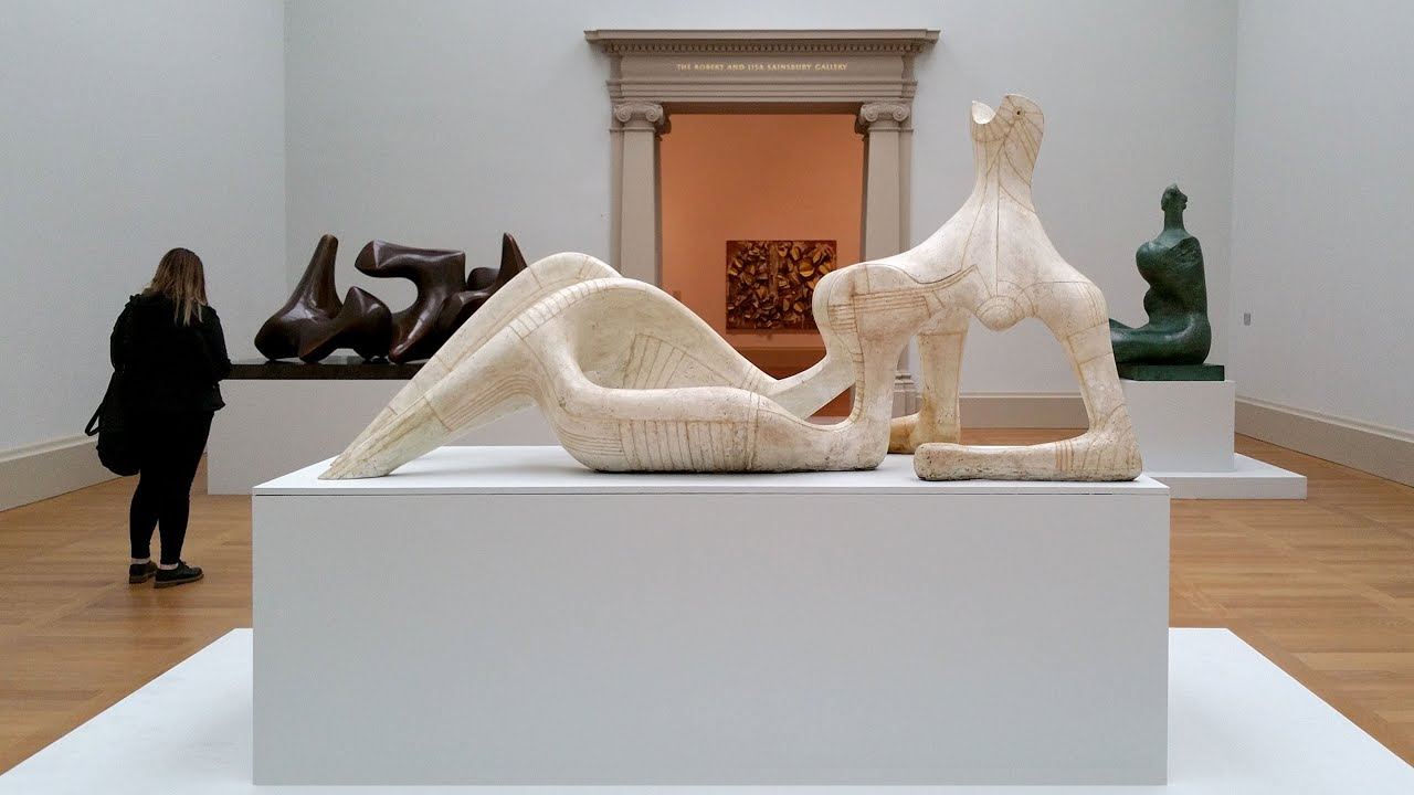 Henry Moore - Reclining Figure 1951 - Tate Britain - London - March 2016 : reclining figures - islam-shia.org