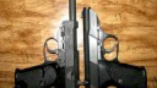 a photographic comparison of the walther p 38 and p 5