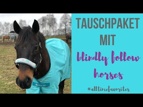 XXL Tauschpaket mit blindly follow horses #alltimefavorites I Cowgirlupblog