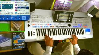 The Da Vinci Code Soundtrack - Hans Zimmer - played on Tyros4