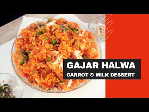 how-to-make-gajar-ka-halwa- -gajorer-halua- -carrots-and-milk-dessert- -full-recipe-step-by-step