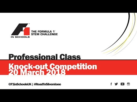F1 in Schools UK National Final 2018 - Knock-out Competition