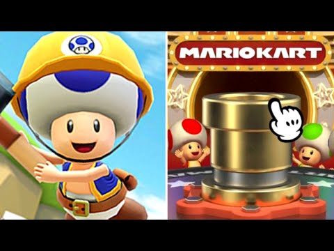 Mario Kart Tour - How many Pulls for Builder Toad? (Trick Pipe 2) |
