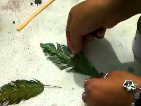 Como hacer una palmera segunda parte youtube - Como hacer una palmera artificial ...