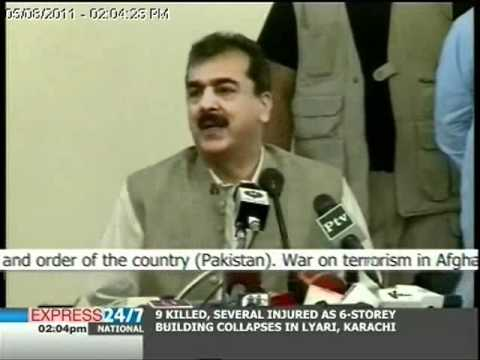 Security situation in Balochistan linked to Afghanistan: Prime Minister Gilani