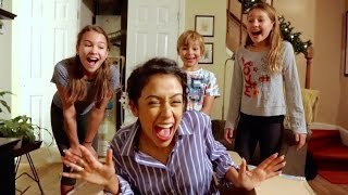 LIZA SURPRISES MY FAMILY!!