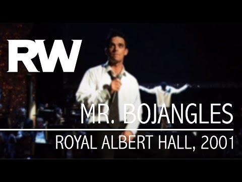 Robbie Williams | Mr. Bojangles | Live At The Albert 2001