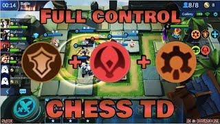 TANK, BEAST & CYBORG BUILD - CHESS TD GAMEPLAY | Mobile Legends Bang Bang