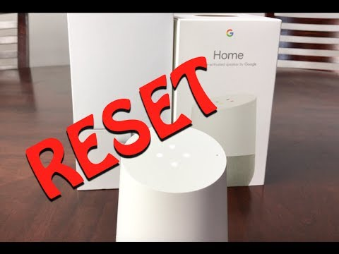 How To Reset Your Google Home!