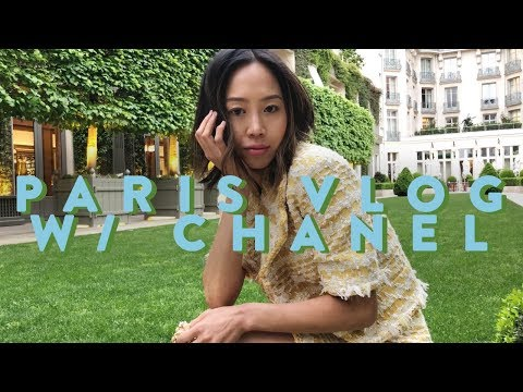 Paris Vlog   Chanel Cruise Show, Flea Market, My Favorite Restaurants  Vlog#59  Aimee Song