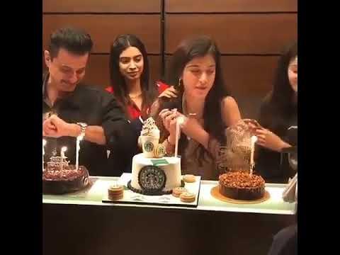 Download Ananya Pandey Birthday celebration video