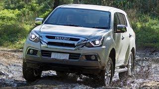 2018 Isuzu MU-X off-road review
