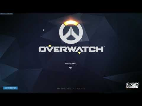 Overwatch: GET IN HERE RIGHT NOW sound warning