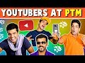YOUTUBERS AT Parent Teacher Meeting | The Half-Ticket Shows
