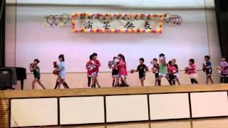 昭和地区ふれあい文化祭で踊りました。