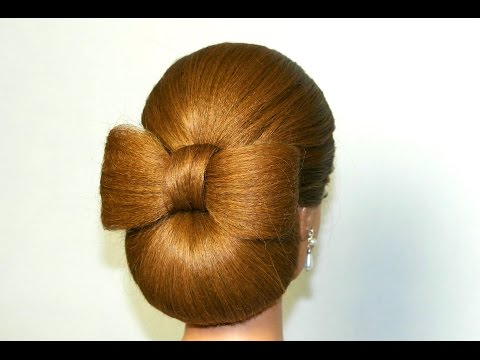 Hair bow Hairstyle for long hair