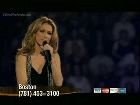 Celine Dion - My Love (LIVE Jerry Lewis MDA Telethon 2008)