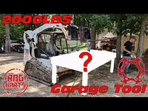 2,000Lbs Garage Tool Install!!! Quantum Machinery Group