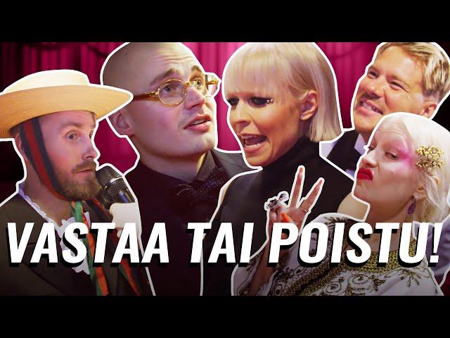 ARTISTIT JÄÄTY MEIDÄN KYSYMYKSILLE | EMMA GAALA 2020 PUNAINEN MATTO