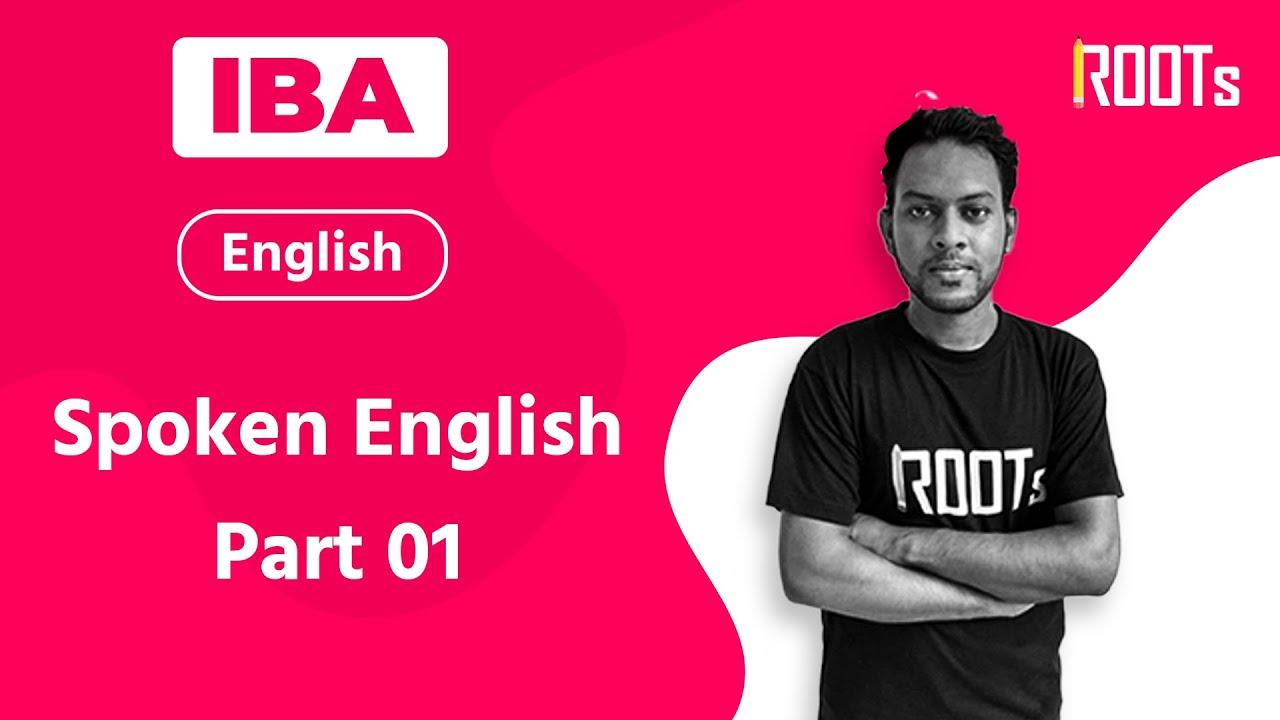 Spoken English | Part 01