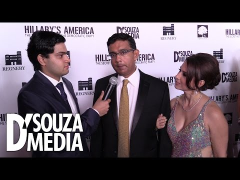 Hollywood Red Carpet: Dinesh D'Souza Interview