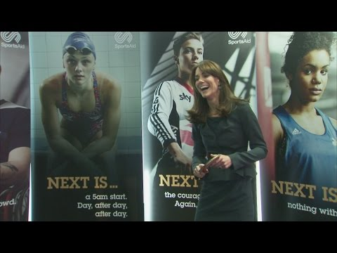 Kate and William: Who's the best at table tennis and basketball?