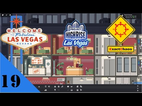 Project Highrise Las Vegas - Let's Play #19 -  Finishing off the offices