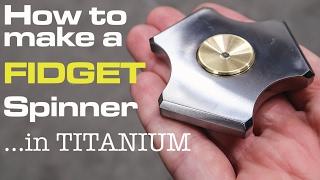 Fidget Spinner / Hand Spinner (DIY)