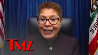 Rep. Karen Bass Angry About Capitol Breach, Worried For Trump's Final Days | TMZ