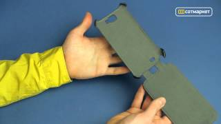 Видео обзор чехла Red Line iBox Premium для GALAXY Note 2 от Сотмаркета