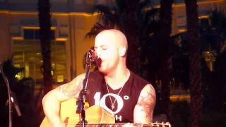 Daughtry Acoustic ~ Learn My Lesson ~ 10/22/10