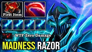 NEW 7.24 IMBA RAZOR MID Crazy Steroid Buff Deleted Pro SF + OP Static Link Madness Speed DotA 2