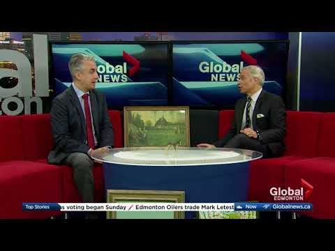 Rob Cowley chats with Global News Morning Edmonton Ahead of Valuation Day Event