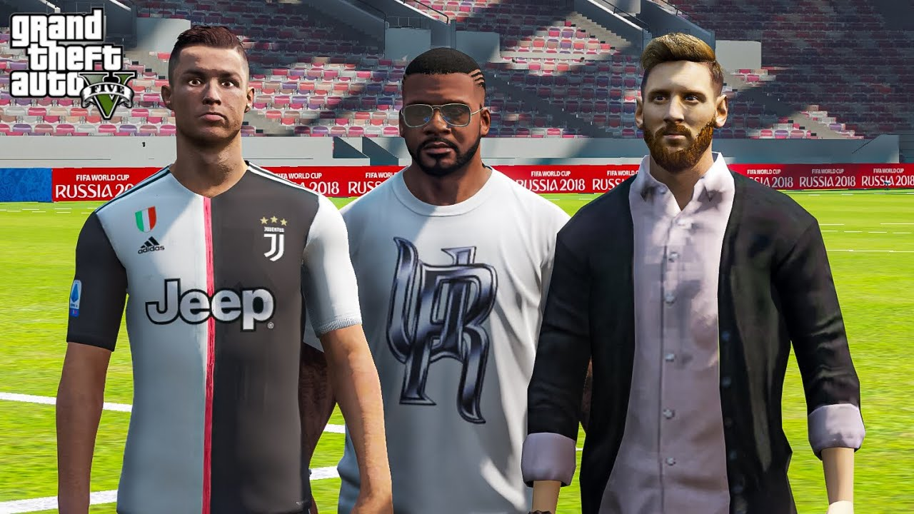 GTA5 Tamil I Met Messi And Ronaldo In Dubai | Real Life Mod | Tamil Gameplay |