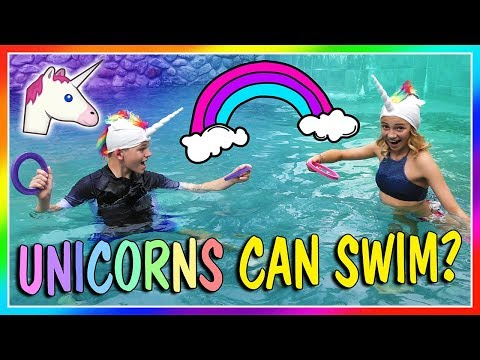 UNICORNS ARE SWIMMING IN OUR POOL!🦄| We Are The Davises