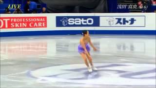 浅田真央さんの2014年世界選手権のフリースケーティング『ノクターン』...