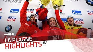 Nikitina breaks 20-year-old track record in La Plagne | IBSF Official