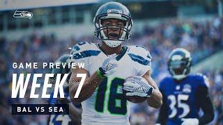 2019 Week 7: Seahawks vs Ravens Preview