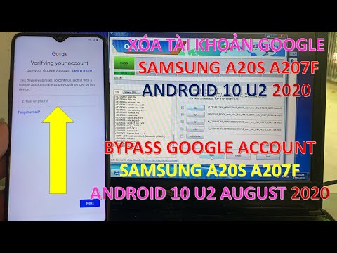 Xóa Tài Khoản Google Samsung A20s A207F 2020   Bypass Google Account Samsung A20s A207F 2020