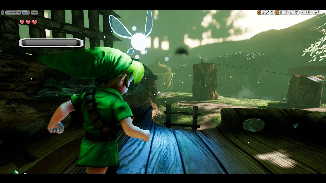Gamer Has Remade Zelda Ocarina of Time in Unreal Engine and It Is